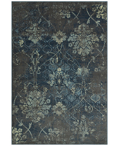 CLOSEOUT! D Style Menagerie MEN2161 Grey Area Rugs