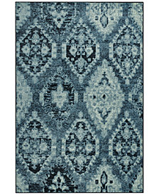 "CLOSEOUT! D Style Menagerie MEN8444 Denim 3'3"" x 5'1"" Area Rug"