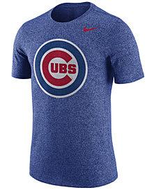 Nike Men's Chicago Cubs Marled T-Shirt
