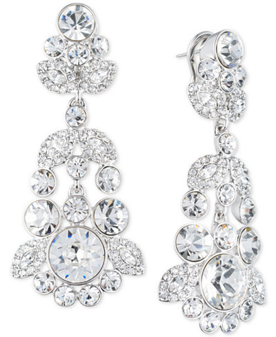 Givenchy Ornate Crystal Chandelier Earrings - Jewelry & Watches ...
