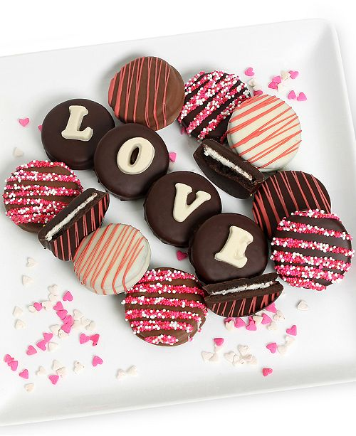 "Chocolate Covered Company 12-pc. ""Love"" Oreo Gift Set"