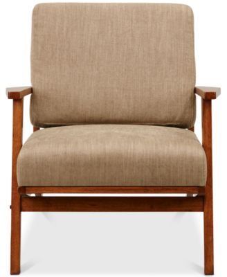 Furniture Axis Exposed Wood Accent Chair, Quick Ship   Furniture   Macyu0027s