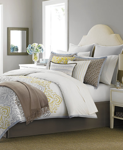 closeout martha stewart collection cape may 10 piece king comforter set only at macy 39 s bed. Black Bedroom Furniture Sets. Home Design Ideas