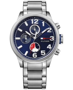 Tommy Hilfiger Men's Casual Sport Stainless Steel Bracelet W