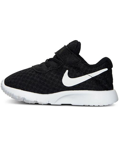 096306109ac02 Nike Toddler Boys  Tanjun Casual Sneakers from Finish Line   Reviews ...