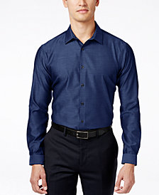 I.N.C. Men's Blake Long-Sleeve Non-Iron Shirt, Created for Macy's
