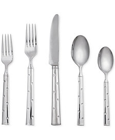kate spade new york Larabee Dot 20 Piece Flatware Set