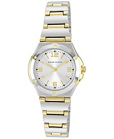 Women's Two Tone Bracelet Watch 28mm 10-8655SVTT