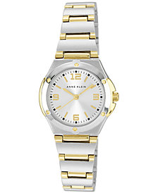 Anne Klein Women's Two Tone Bracelet Watch 28mm 10-8655SVTT