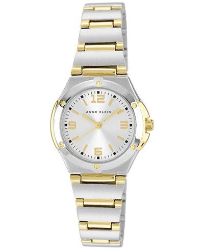 Anne Klein Women's Two Tone Bracelet Watch 28mm 10-8655SVTT