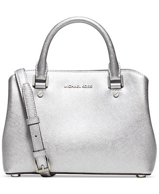 MICHAEL Michael Kors Savannah Small Satchel - Handbags ...