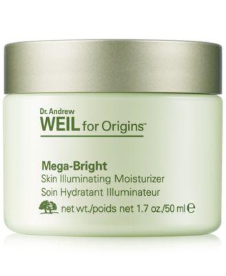 Dr. Andrew Weil for Origins Mega-Bright Skin Illuminating Moisturizer, 1.7 oz.