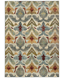 "Oriental Weavers Sedona 6371C 7'10"" x 10'10"" Area Rug"