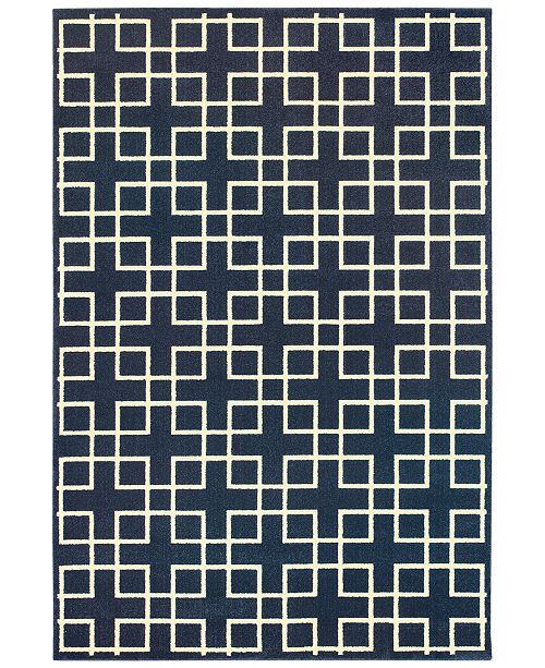"Oriental Weavers Ellerson Crosswalk 5'3"" x 7'6"" Area Rug"