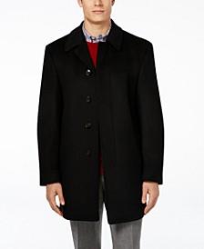 Jake Solid Wool-Blend Overcoat