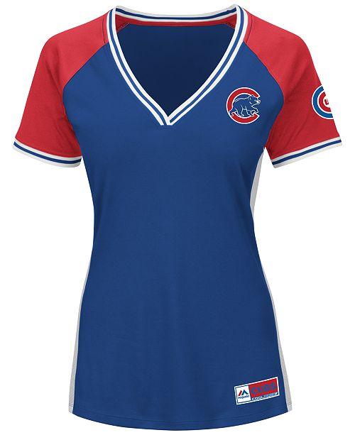 Majestic Women's Chicago Cubs League Diva T-Shirt