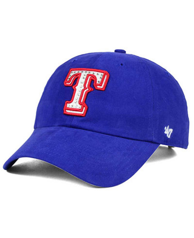 '47 Brand Texas Rangers Gemstone Clean Up Cap