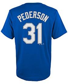 Kids' Joc Pederson Los Angeles Dodgers Player T-Shirt, Big Boys (8-20)