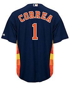 Majestic Men's Carlos Correa Houston Astros Replica Jersey
