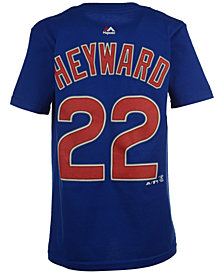 MajesticJason Heyward Chicago Cubs Player T-Shirt, Big Boys (8-20)