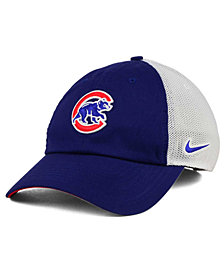 Nike Chicago Cubs Dri-FIT Mesh Swoosh Adjustable Cap