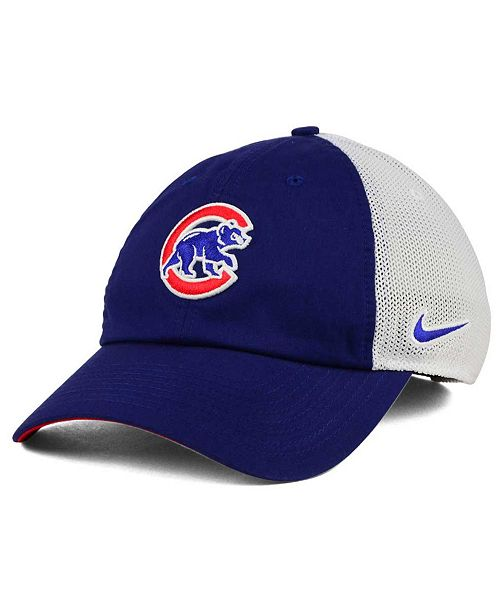 a9e90e44e537a Nike Chicago Cubs Dri-FIT Mesh Swoosh Adjustable Cap   Reviews ...