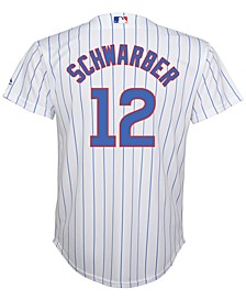 Schwarber Chicago Cubs Replica Jersey, Big Boys (8-20)