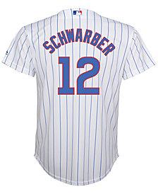 MajesticKyle Schwarber Chicago Cubs Replica Jersey, Big Boys (8-20)