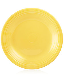 "Fiesta Sunflower 10.5"" Dinner Plate"