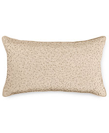 """Hotel Collection Dimensions Champagne 14"""" x 24"""" Decorative Pillow, Created for Macy's"""