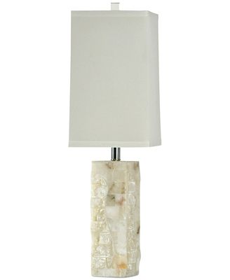 Stylecraft Alabaster And Crystal Table Lamp Lighting