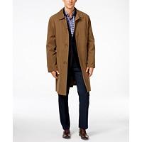London Fog Durham Classic-Fit Raincoat Deals