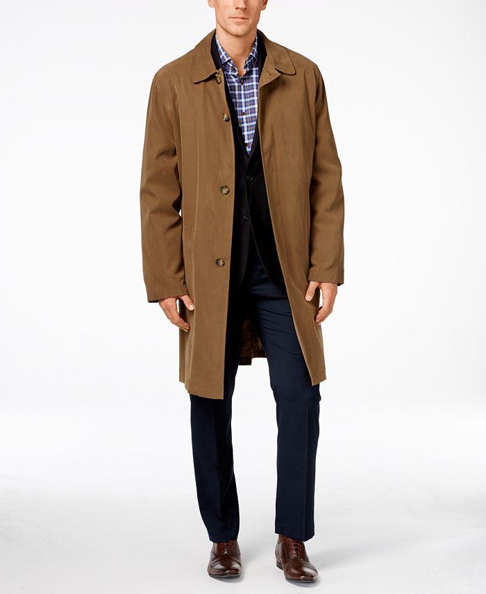 London Fog Durham Classic Fit Raincoat, Classic London Fog Trench Coat
