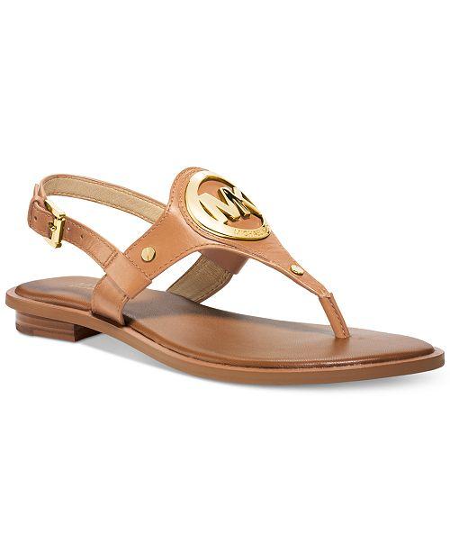 78f1d4ae68ab Michael Kors Aubrey Charm Thong Sandals   Reviews - Sandals ...