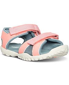 adidas Little Girls' Sandplgy OD Water Shoes from Finish Line