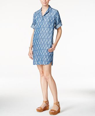 Velvet Heart Macy Printed Shirtdress