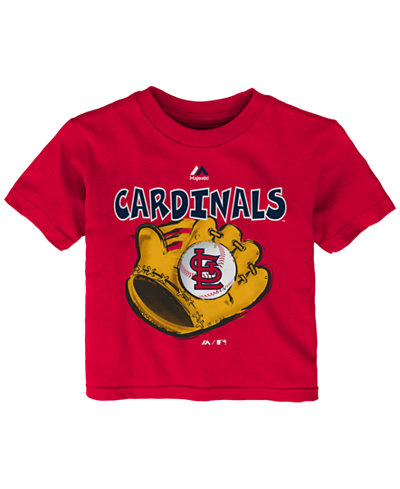 Majestic Toddlers' St. Louis Cardinals Baseball Mitt T-Shirt