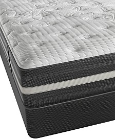 Beautyrest Recharge World Class Keaton 13 Luxury Firm Mattress Set Queen