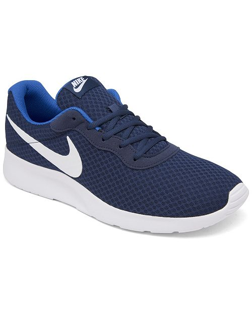 ac749e1621f Nike Men s Tanjun Casual Sneakers from Finish Line   Reviews ...