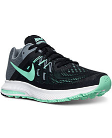 Nike Women's Zoom Winflo 2 Running Sneakers from Finish Line