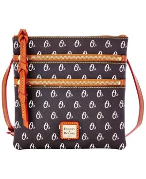 Baltimore Orioles Triple Zip Crossbody Bag