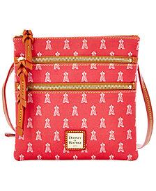 Dooney & Bourke Los Angeles Angels of Anaheim Triple Zip Crossbody Bag