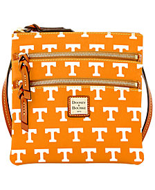 Dooney & Bourke Tennessee Volunteers Triple Zip Crossbody Bag