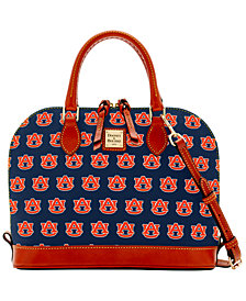 Dooney & Bourke Auburn Tigers Zip Zip Satchel