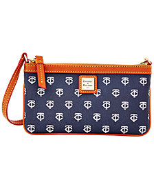 Dooney & Bourke Minnesota Twins Large Slim Wristlet