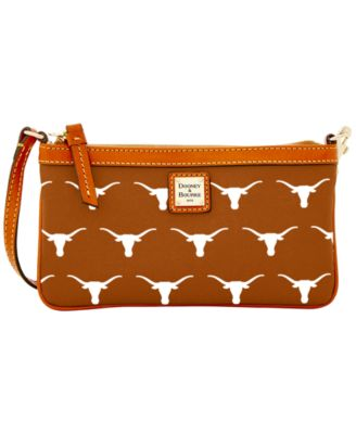 Texas Longhorns Large Slim Wristlet