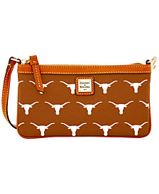 Dooney & Bourke Texas Longhorns Large Slim Wristlet