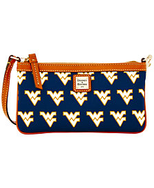 Dooney & Bourke West Virginia Mountaineers Large Slim Wristlet