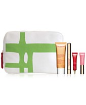 Receive a free 8-piece bonus gift with your $150 Clarins purchase