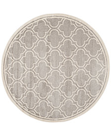 Safavieh Amherst Indoor/Outdoor 5' x 5' Round Area Rug
